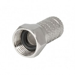 CONECTOR F MACHO 6,6mm