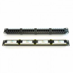 PATCH PANEL 24 PUERTOS Cat 6